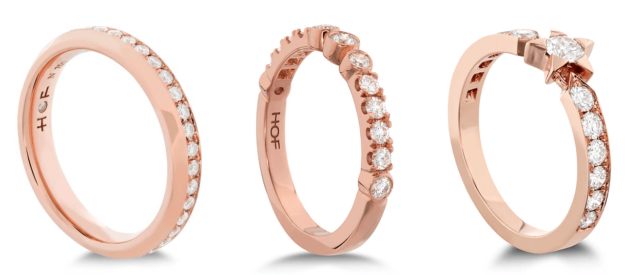 Hearts on Fire Rose Gold Engagement Rings at Dejaun Jewelers